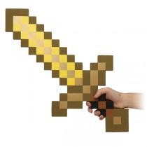 "Меч из игры Minecraft (Майнкрафт) ""Gold Pickaxe"" 60см"