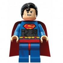 Будильник Lego Super Heroes, минифигура Superman