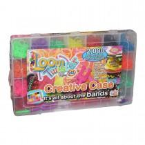 """Набор для плетения браслетов из резинок """"Loom Twister"""": станок, 2500 резинок"""