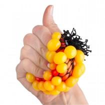 "Стрессбол ""Жмяка Мини"", цвет оранжевый/желтый"