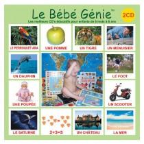 (0+) Вундеркинд с пеленок. Le Bebe Genie (Лё Бебе Жени): Французский язык